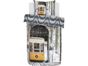 Covers & Co Jugendbettwäsche »Lisboa«, 135x200 cm, bunt, aus reiner Baumwolle
