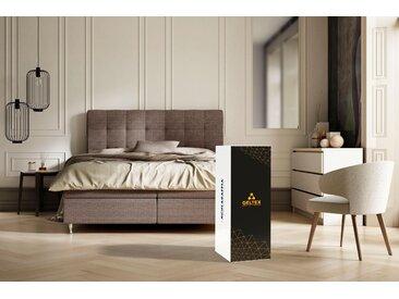 Schlaraffia Taschenfederkern Matratze »GELTEX® Quantum 200 TFK«, 1x 120x190 cm, weiß, 0-80 kg