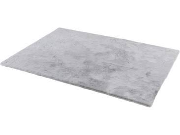 Schöner Wohnen-kollektion Teppich »Tender«, 130x190 cm, 26 mm Gesamthöhe, silber