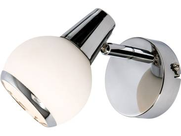 Nino Leuchten  LED Wandleuchte  »LORIS«, inklusive LED-Leuchtmittel, silber