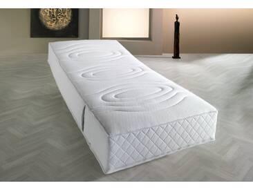 F.a.n. Frankenstolz Taschenfederkern-Matratze »Komfort 1.000 T«, 1x 100x200 cm, weiß, 0-80 kg
