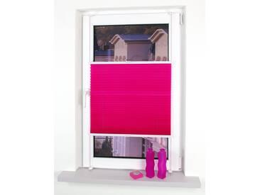 Liedeco Plissee »Klemmfix Plissee YOUNG COLOURS«, H/B 150/100 cm, einfache Montage ohne Bohren, rot
