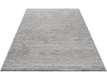 My Home Hochflorteppich »Bodrum«, 70x140 cm, 30 mm Gesamthöhe, grau