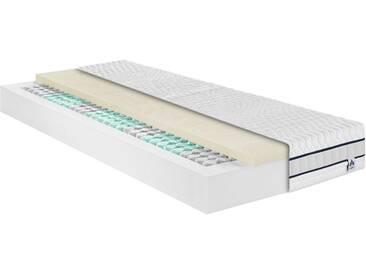 Irisette Taschenfederkernmatratze »Stralsund TFK«, 1x 100x200 cm, weiß, 81-100 kg