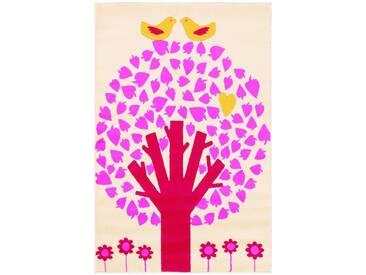 Arte Espina Kinderteppich »Lol Kids 4429«, 100x150 cm, 11 mm Gesamthöhe, rosa