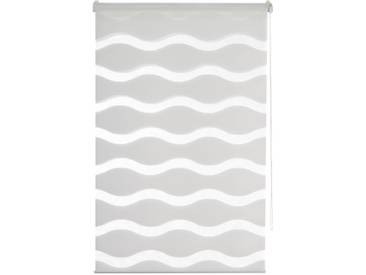 K-home Doppelrollo »MASSA«, H/B 200/70 cm, effektiver Sicht- und Sonnenschutz, weiß