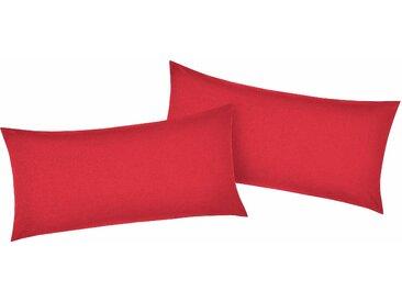 My Home Kissenbezüge###Kissenbezug »Luisa«, 2x 80x40 cm, rot