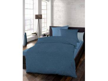 Schlafgut Bettwäsche »Select«, 135x200 cm, waschbar, blau, aus 100% Baumwolle