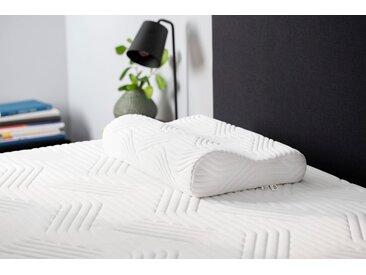 Tempur Nackenstützkissen »TEMPUR® Shape Schlafkissen«, Bezug waschbar, weiß