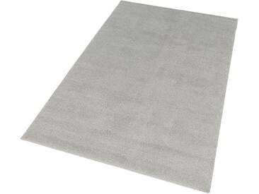 Schöner Wohnen-kollektion Teppich »Melody«, 80x150 cm, 20 mm Gesamthöhe, silber