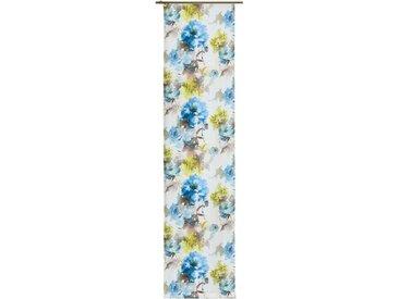 Wirth Schiebegardine  »MOLINELLA«, H/B 245/60 cm, blau, blickdichter Stoff
