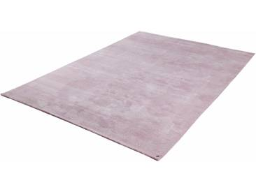 Tom Tailor Teppich »Powder uni«, 50x80 cm, 12 mm Gesamthöhe, rosa