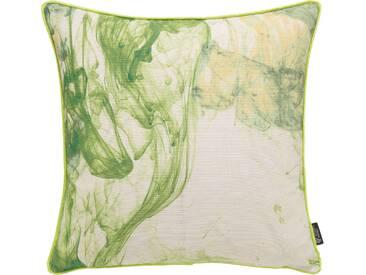 Emotion Textiles Kissenhülle »Storm of Colours«, grün