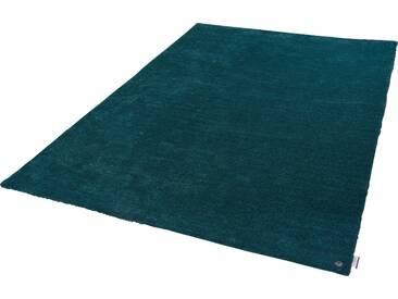 Tom Tailor Teppich »Powder uni«, 50x80 cm, 12 mm Gesamthöhe, grün
