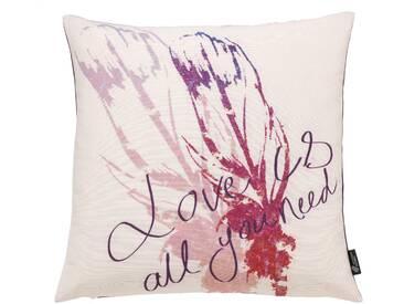 Emotion Textiles Kissenbezug »Feather«, lila