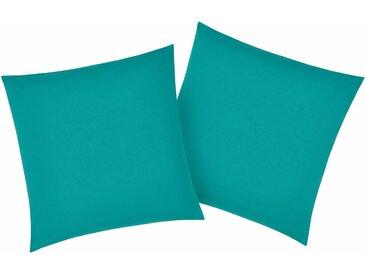 My Home Kissenbezüge###Kissenbezug »Luisa«, 2x 40x40 cm, grün