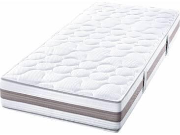 Hn8 Schlafsysteme Taschenfederkernmatratze »Dynamic Gelschaum TFK 26«, 1x 140x200 cm, ideal für Hausstauballergiker, 101-120 kg