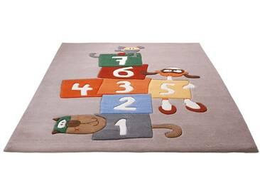 Sigikid Kinderteppich »Bandileros Jump«, 120x180 cm, schmutzabweisend, 10 mm Gesamthöhe, beige