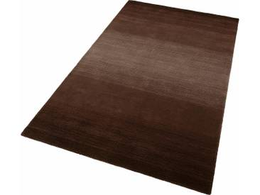 Theko® Teppich »Wool Comfort«, 140x200 cm, 15 mm Gesamthöhe (ca.), braun