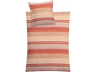Kleine Wolke Bettwäsche  »Laine«, 135x200 cm, rot