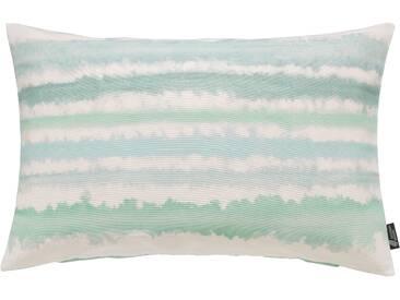 Emotion Textiles Kissenhülle »Aquarellstreifen«, grün