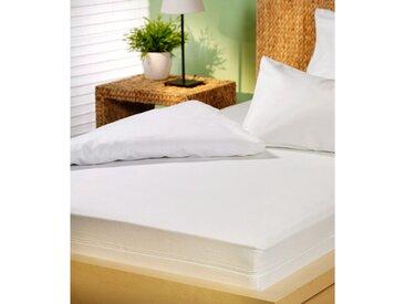 Setex Matratzen Und Kissen Matratzenschutzbezug »Protect & Care«, 1x 100x200 cm, weiß