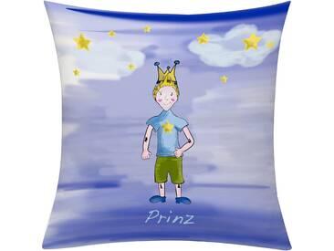 Emotion Textiles Kissenhülle »Prinz Nacht«, blau