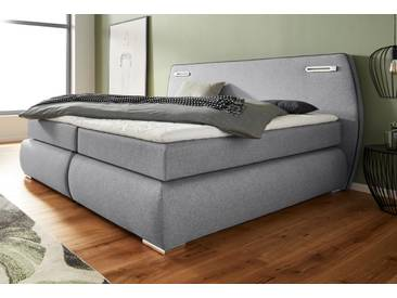 Inosign Boxspringbett »Black&White«, grau
