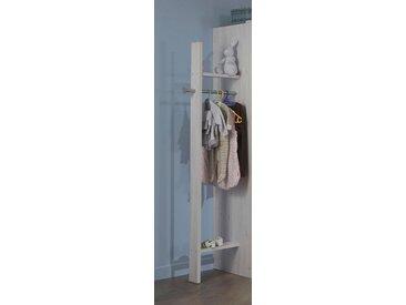 Garderobenhalter »Bergamo«, Schlafwelt, weiß