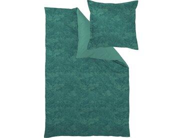 Curt Bauer Wendebettwäsche »Calista«, 155x220 cm, grün, aus 100% Baumwolle