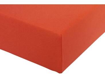 Formesse Spannbetttuch, ca. 90-100/190-220 cm, orange
