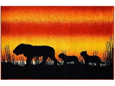 Arte Espina Kinderteppich »Lol Kids 4426«, 100x150 cm, 11 mm Gesamthöhe, orange
