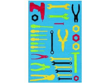 Arte Espina Kinderteppich »Lol Kids 4432«, 100x150 cm, 11 mm Gesamthöhe, bunt