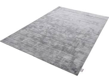 Tom Tailor Teppich »Shine uni«, 85x155 cm, 8 mm Gesamthöhe, grau