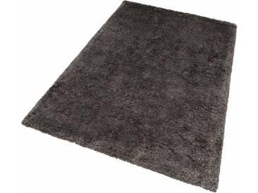 Lalee Hochflor-Teppich »Monaco«, 60x110 cm, 45 mm Gesamthöhe (ca.), grau