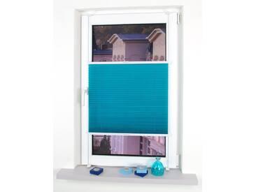 Liedeco Plissee »Klemmfix Plissee YOUNG COLOURS«, H/B 150/80 cm, einfache Montage ohne Bohren, blau