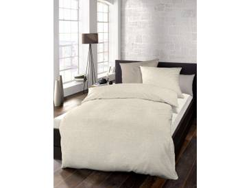 Schlafgut Bettwäsche »Select«, 1x 240x220 cm, waschbar, beige, aus 100% Baumwolle