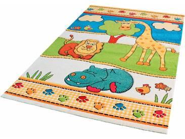 Impression Kinder-Teppich »Rhapsody Kids1517«, 160x230 cm, 13 mm Gesamthöhe, weiß