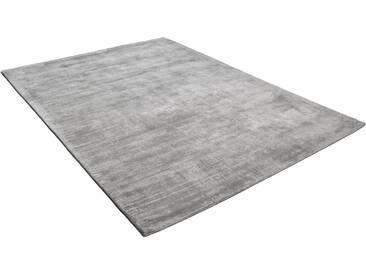 Tom Tailor Teppich »Shine uni«, 65x135 cm, 8 mm Gesamthöhe, silber