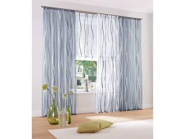 My Home Raffrollo  »Dimona«, H/B 140/100 cm, weiß, transparenter Stoff