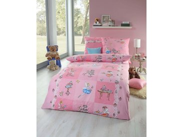 Kaeppel Kinderbettwäsche »Cupcakes«, 135x200 cm, rosa