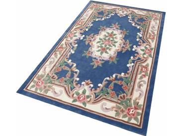 Theko® Teppich »Ming«, 70x140 cm, 14 mm Gesamthöhe, blau