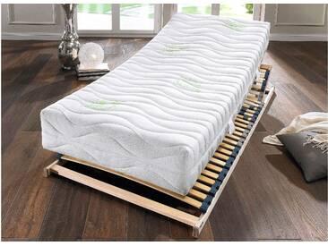 Hn8 Schlafsysteme Komfortschaum Matratze »Green HF«, 1x 100x200 cm, 7 Zonen Komfortschaummatratze, 81-100 kg