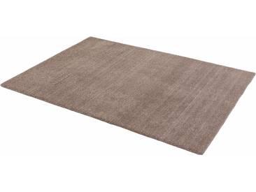 Schöner Wohnen-kollektion Teppich »Victoria Deluxe«, 90x160 cm, 18 mm Gesamthöhe, grau