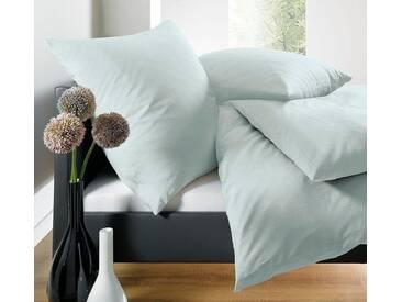 Schlafgut Bettwäsche »Leni«, 135x200 cm, Hpflegeleicht, grün, aus 100% Baumwolle