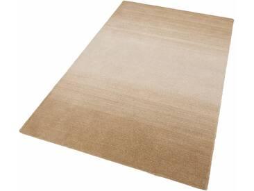 Theko® Teppich »Wool Comfort«, 60x90 cm, 15 mm Gesamthöhe (ca.), beige