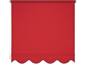 Liedeco Seitenzugrollo, H/B 180/182 cm, Montage mit Bohren, rot