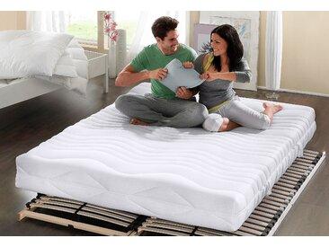 My Home Komfortschaummatratze »Übergrößen«, 1x 140x200 cm, ideal für Allergiker, weiß, 0-80 kg