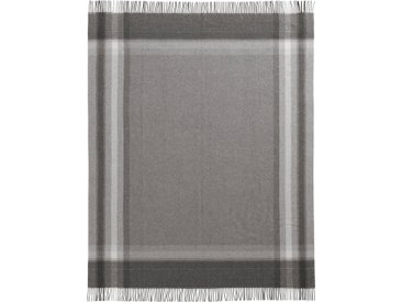 Biederlack Plaid »Abby«, 130x170 cm, grau