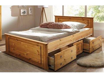 Home Affaire Bettschubladen », wahlweise in 140/200 cm oder 180/200 cm. Achtung! Die Bettschubladen müssen extra bestellt werden.«, 180/200 cm, beige